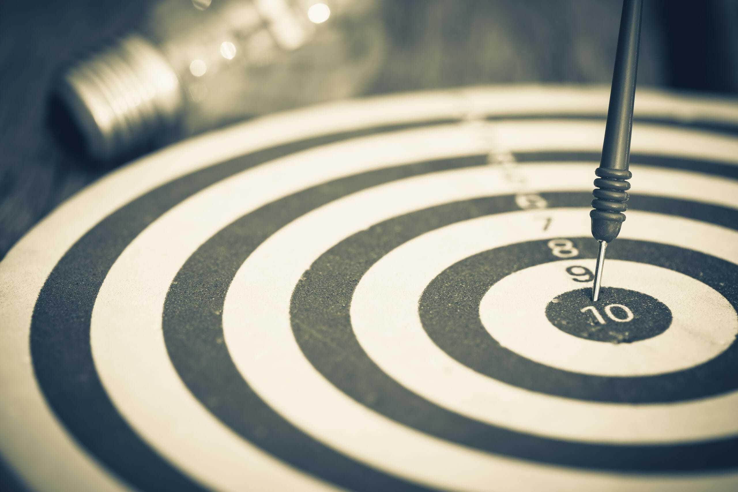 centrare gli obiettivi